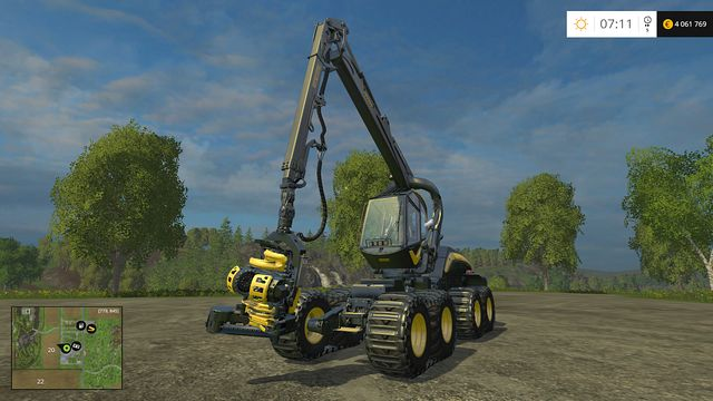 Model: Scorpionking - Forestry equipment - Machines - Farming Simulator 15 Game Guide