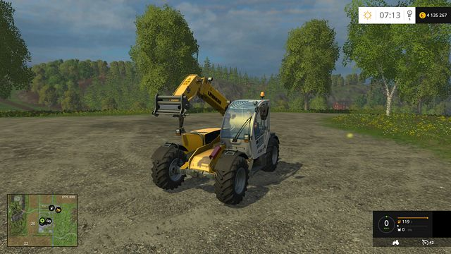 Model: TL 436-7 - Telehandlers - Machines - Farming Simulator 15 Game Guide