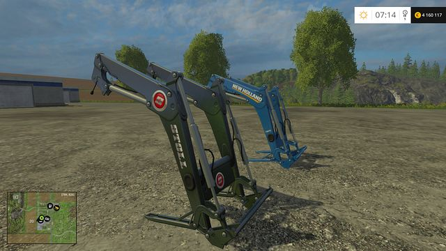 Model: 750TL/FZ 30 - Front loaders - Machines - Farming Simulator 15 Game Guide