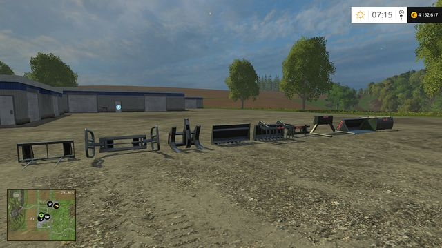 Available loaders - Front loaders - Machines - Farming Simulator 15 Game Guide