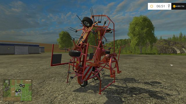 Model: GF 6502 - Windrowers - Machines - Farming Simulator 15 Game Guide
