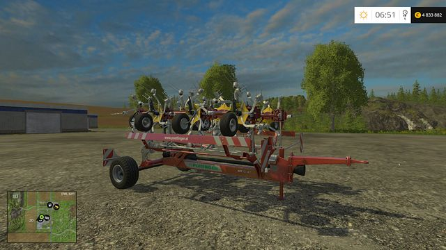 Model: HIT 12 - Windrowers - Machines - Farming Simulator 15 Game Guide