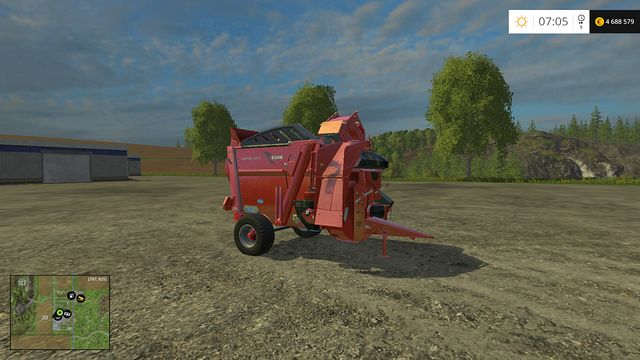 Model: Primor 3570 - Feeding technology - Machines - Farming Simulator 15 Game Guide