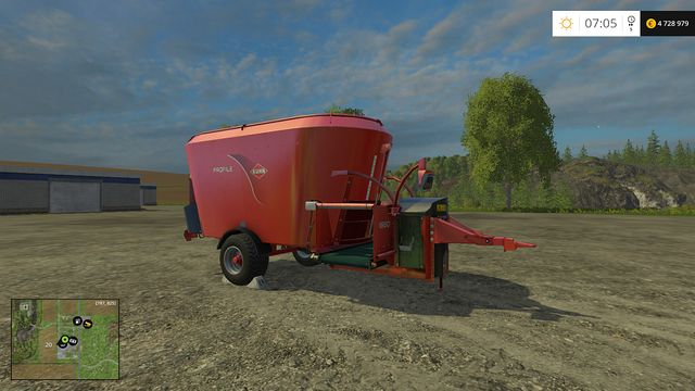 Model: Profile 1880 - Feeding technology - Machines - Farming Simulator 15 Game Guide