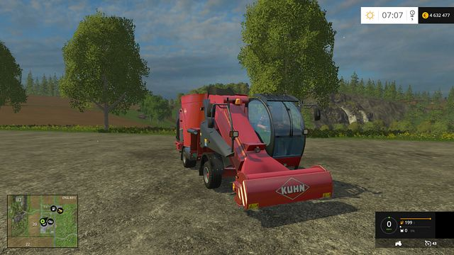 Model: SPV Confort 12 - Feeding technology - Machines - Farming Simulator 15 Game Guide