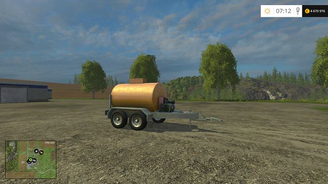 Model: Mobile Fuel Tank - Misc - Machines - Farming Simulator 15 Game Guide
