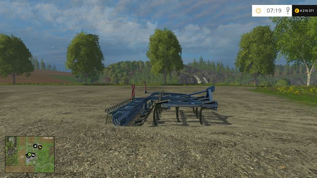Model: Trio 300 M - Cultivators - Machines - Farming Simulator 15 Game Guide