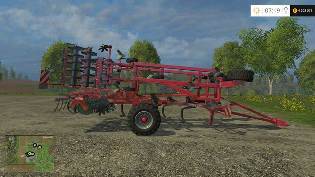 Model: Terrano 5 FM - Cultivators - Machines - Farming Simulator 15 Game Guide