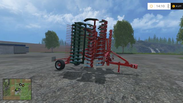 Model: Terra Disc 600 - Cultivators - Machines - Farming Simulator 15 Game Guide