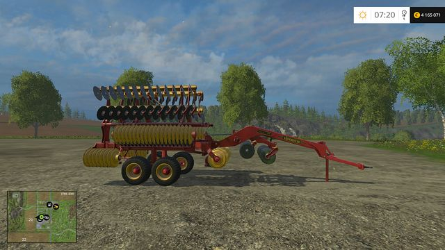 Model: Carrier 820 - Cultivators - Machines - Farming Simulator 15 Game Guide