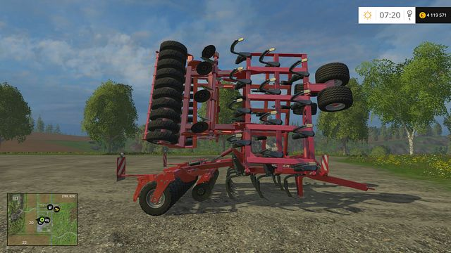 Model: Tiger 10 LT - Cultivators - Machines - Farming Simulator 15 Game Guide