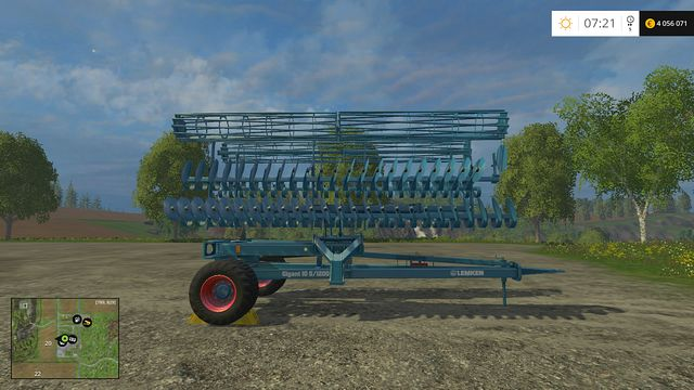 Model: Heliodor Gigant 10/1200 - Cultivators - Machines - Farming Simulator 15 Game Guide