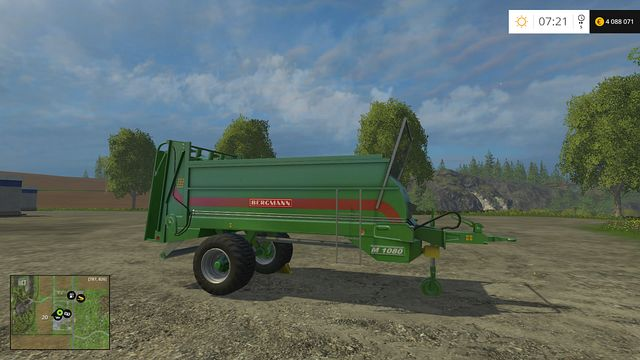 Model: M 1080 - Manure Spreaders - Machines - Farming Simulator 15 Game Guide
