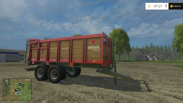 Model: N-270 - Manure Spreaders - Machines - Farming Simulator 15 Game Guide