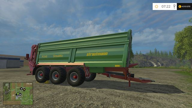 Model: PS 3401 - Manure Spreaders - Machines - Farming Simulator 15 Game Guide