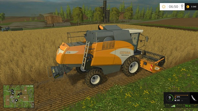 First harvest. - Sowing, cultivation, harvest - Basics - Farming Simulator 15 Game Guide