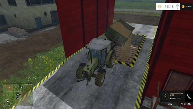 It is best to sell your grain in the Grain elevator. - Selling the crop and further gameplay - Basics - Farming Simulator 15 Game Guide