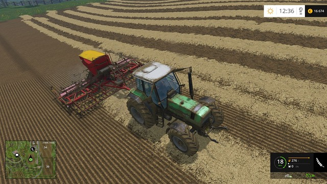 A sowing machine that doesnt require the land to be cultivated first is an absolute must have for every farmer. - Changing your equipment - Basics - Farming Simulator 15 Game Guide