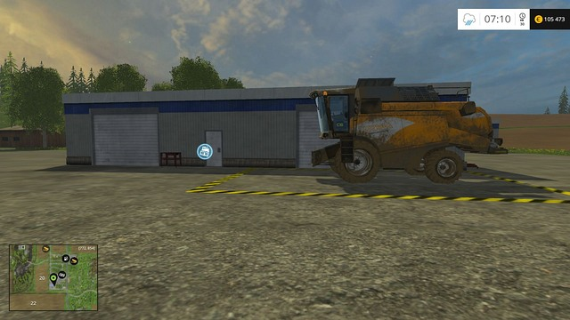 Dont forget to drive the harvester, along with the header, to the shop directly and sell it there, earning 20% more. - Changing your equipment - Basics - Farming Simulator 15 Game Guide