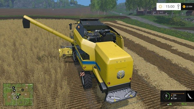 One harvester simply wont be enough for a bigger number of fields. - New fields - Basics - Farming Simulator 15 Game Guide