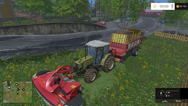 An efficient mowing system. - Sheep - Animals - Farming Simulator 15 Game Guide