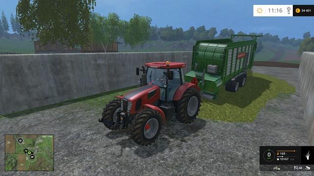 You need a lot of grass to produce silage. - Cows - Animals - Farming Simulator 15 Game Guide