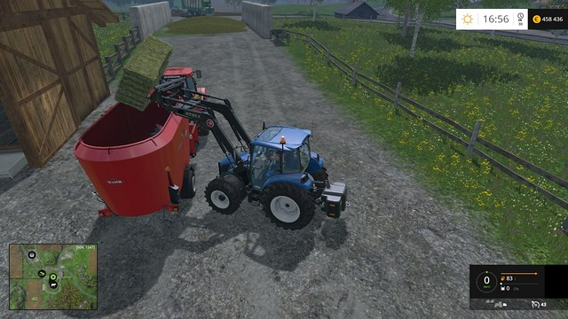A proper mixture will increase the productivity to the maximum level. - Cows - Animals - Farming Simulator 15 Game Guide