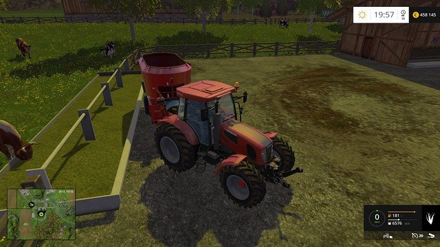 The last stage is, of course, feeding the cows. - Cows - Animals - Farming Simulator 15 Game Guide