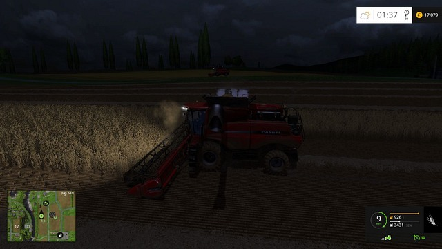 Working with such a harvester is nothing but pleasure. - Grain - Plants - Farming Simulator 15 Game Guide