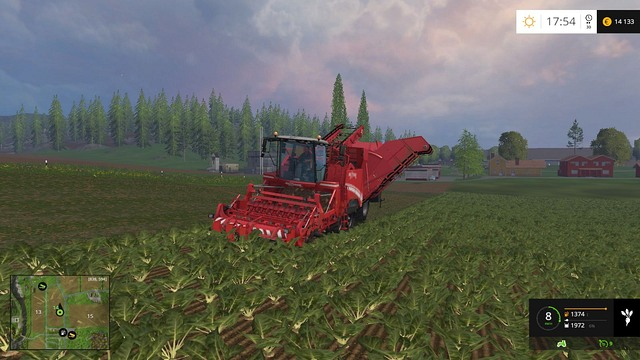 Maxtron 620 - an expensive, but very efficient machine. - Sugar beets and potatoes - Plants - Farming Simulator 15 Game Guide