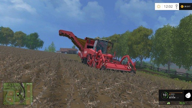 The most expensive harvester means the most efficient work. - Sugar beets and potatoes - Plants - Farming Simulator 15 Game Guide