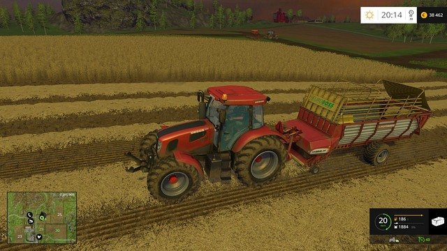 Grass clippings, after the harvest. - Grass, hay, straw - Plants - Farming Simulator 15 Game Guide