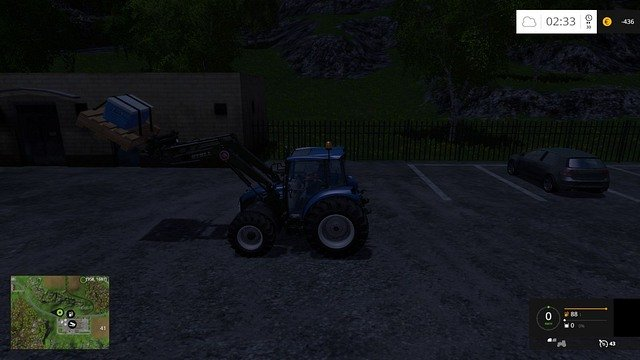 A night ride. It must be some secret fertilizer formula... - Transport - Plants - Farming Simulator 15 Game Guide