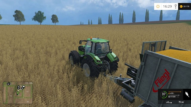 Harvest can wait - go for the bonus! - Demand - Plants - Farming Simulator 15 Game Guide