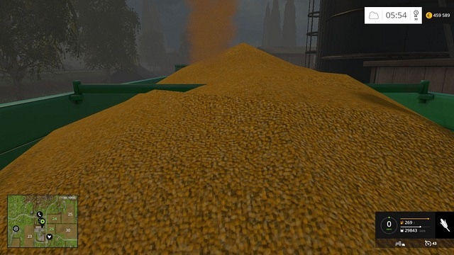Filling up such a big trailer may take some time. - Demand - Plants - Farming Simulator 15 Game Guide
