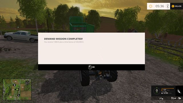 Thats what Im talking about - a proper bonus! - Demand - Plants - Farming Simulator 15 Game Guide