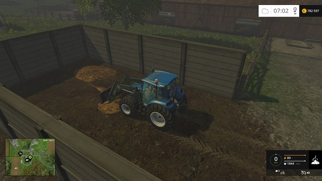 Cows will start producing manure only after you provide straw. - Basics - Placing objects - Farming Simulator 15 Game Guide