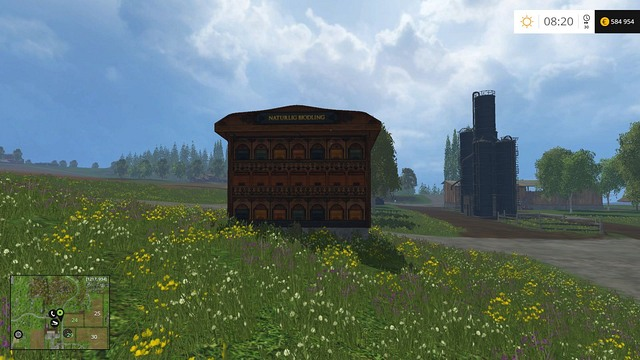 Beehouse is the first and the cheapest object that generates profit - Available objects - Placing objects - Farming Simulator 15 Game Guide