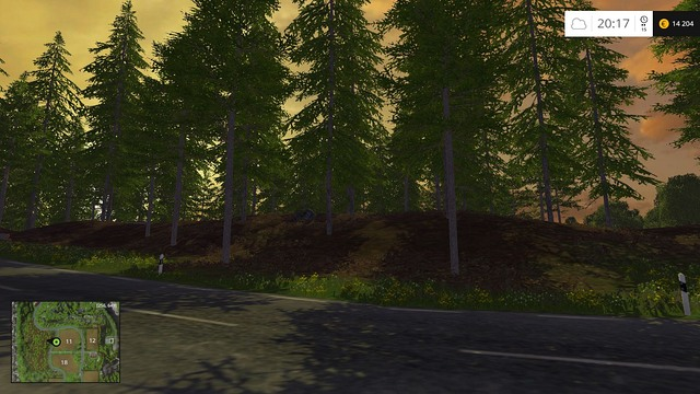 Small woods are perfect for cutting. - Woodcutting - Other - Farming Simulator 15 Game Guide