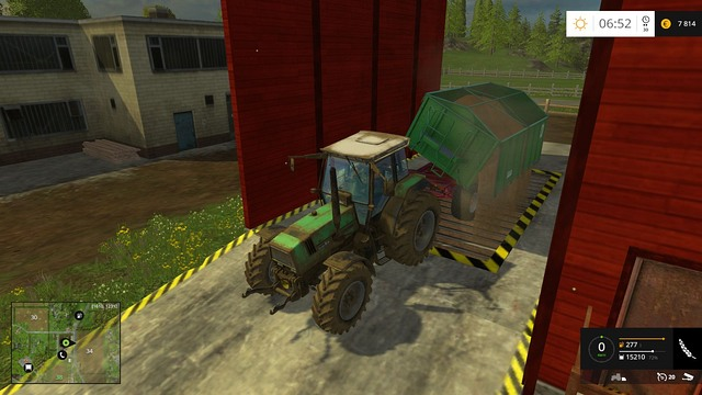 At earlier stages of the game, it is good to sell most of your crop. - Store or sell - Other - Farming Simulator 15 Game Guide