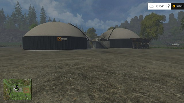 The place where you sell silage. - Biogas - a profitable business - Other - Farming Simulator 15 Game Guide