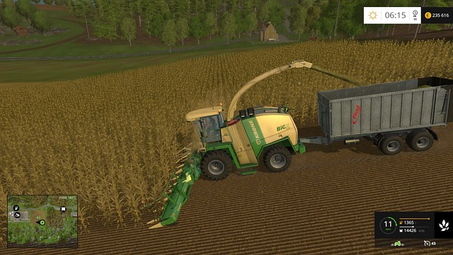 Buying a harvester with which you can gather chaff is the biggest expenditure. - Biogas - a profitable business - Other - Farming Simulator 15 Game Guide
