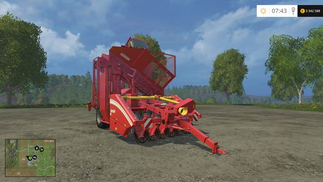 Model: Rootster 604 - Harvesting sugar beets - Machines - Farming Simulator 15 Game Guide