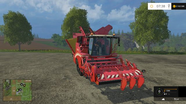 Model: Maxtron 620 - Harvesting sugar beets - Machines - Farming Simulator 15 Game Guide