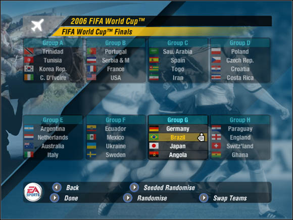 cup 2006 game world fifa
