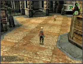 Map seller in Southern Plaza - Rabanastre - again - Part I - Final Fantasy XII - Game Guide and Walkthrough