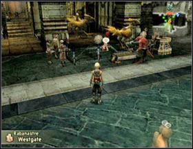 Chocobo rent stables by every exit from Rabanastre (500g) - Rabanastre - again - Part I - Final Fantasy XII - Game Guide and Walkthrough