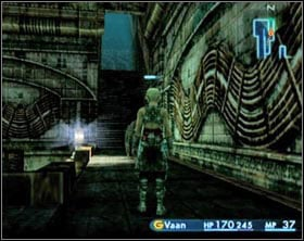 When you reach the end of the sewages the game will try to assure itself that you really are ready to continue - Garamsythe Waterway - Part I - Final Fantasy XII - Game Guide and Walkthrough