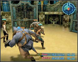 In the hall where you begin collect every single treasure, save you progress and continue forth - Nalbina Fortress - dungeons - Part I - Final Fantasy XII - Game Guide and Walkthrough