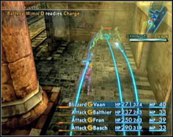 The gauge under the mini map shows the level of power - Barheim Passage - Part I - Final Fantasy XII - Game Guide and Walkthrough